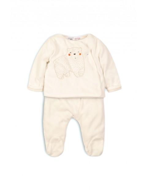 Komplet niemowlęcy bluza i spodnie- wyprawka