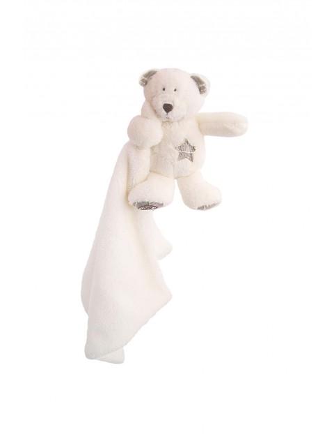 Guliano Doudou biały 37x37cm- maskotka przytulanka