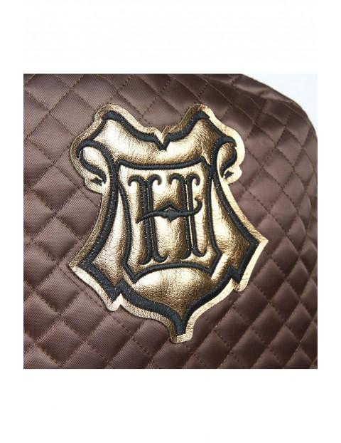 Plecak Premiun Harry Potter brązowy pikowany