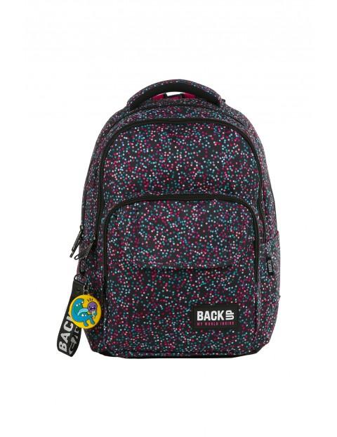 Plecak BACKUP - w kolorowe kropeczki