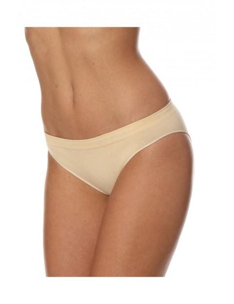 Majtki damskie bikini COMFORT COTTON bężowe