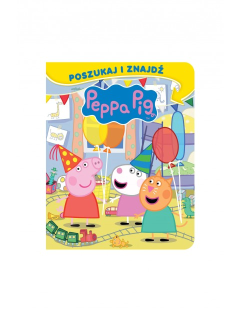 Książka dziecięca - Świnka Peppa. Poszukaj i znajdź