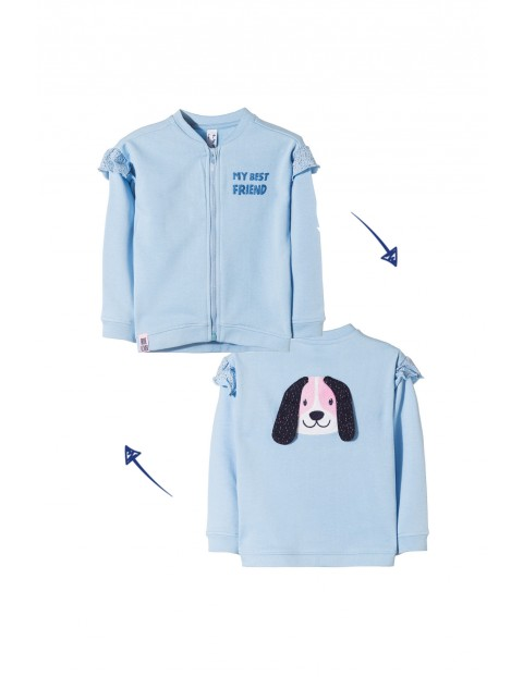 Bluza rozpinana niemowlęca 5F3504