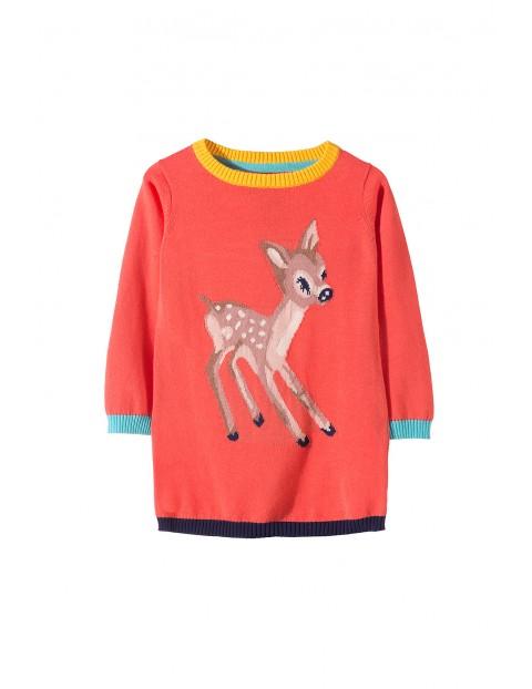 Sweter dziewczęcy 3C3305