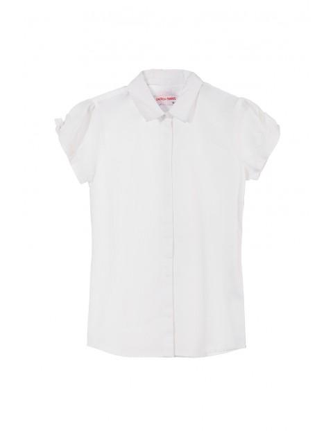 Koszula dziewczęca krótki rękaw 4J3403