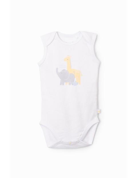 Body niemowlęce na ramiączkach - 100% bawełna