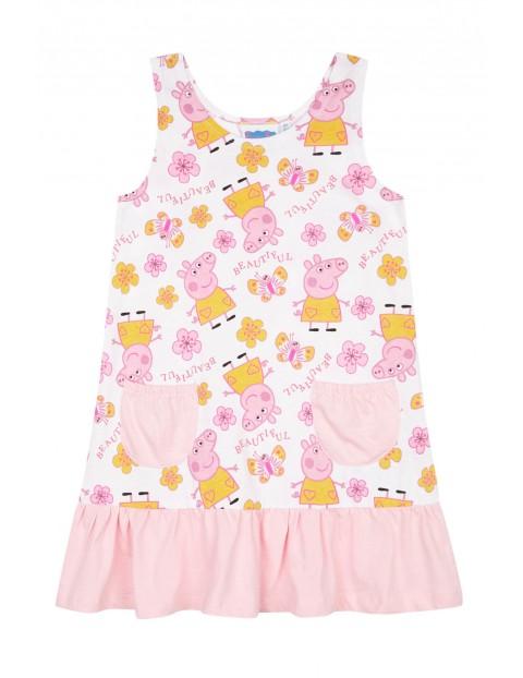 Sukienka dziewczęca na lato Świnka Peppa