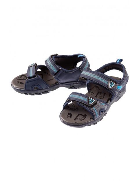 Sandały dla chłopca- granatowe