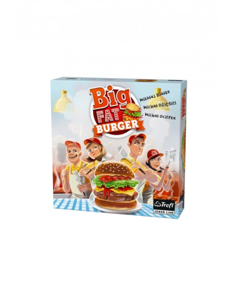 Gra Big Fat Burger Trefl 4Y35C6