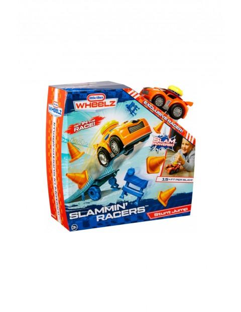 Zestaw Slammin' Racers Stunt Jump TV 3+