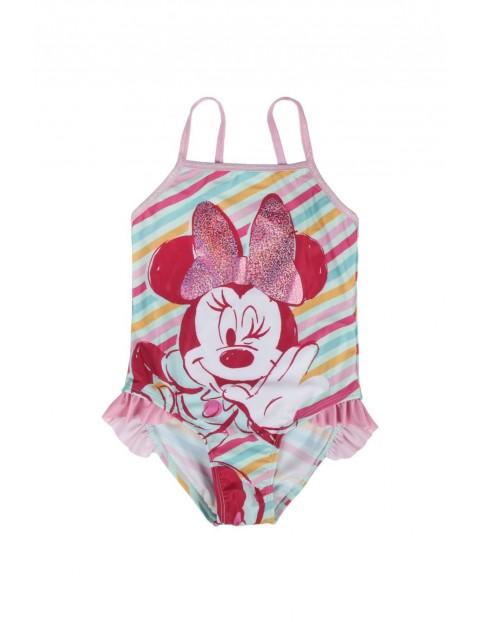 Strój kąpielowy Myszka Minnie - różowy