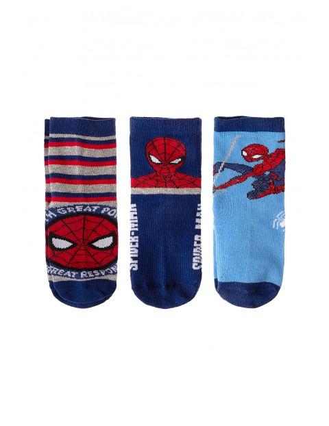 3pak skarpetek dla chłopca- Spiderman