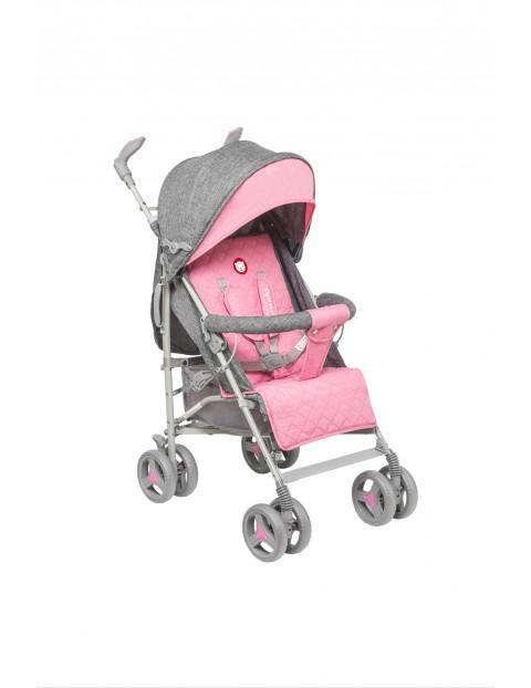 Wózek spacerowy Lionelo Irma-różowy