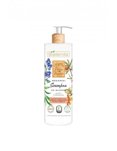 100% PURE VEGAN Wegański szampon do włosów - WŁOSY FARBOWANE - 400g