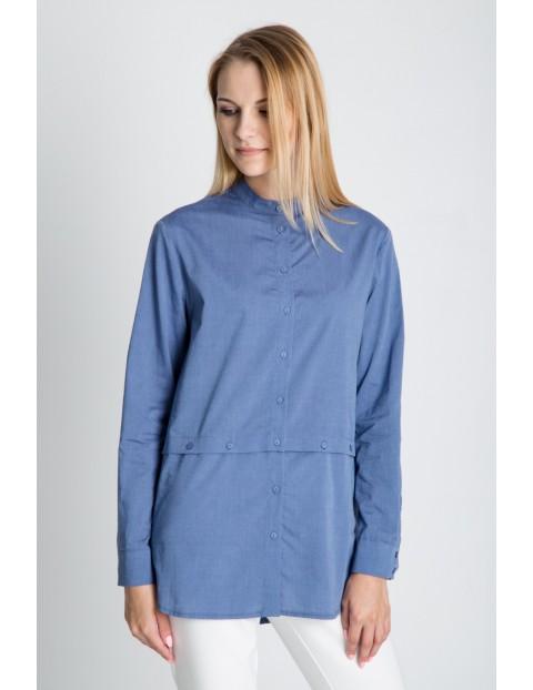 Koszula  w kolorze niebieskim
