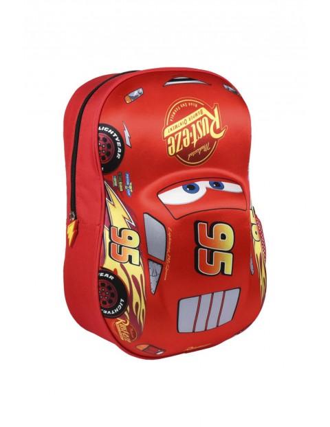 Plecak 3D Cars - czerwony