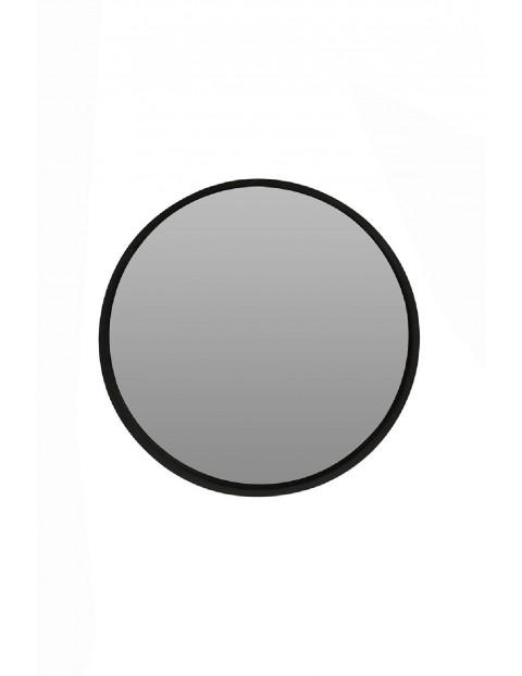 Lustro okrągłe czarne 40cm