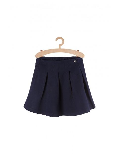 Granatowa spódniczka dla dziewczynki