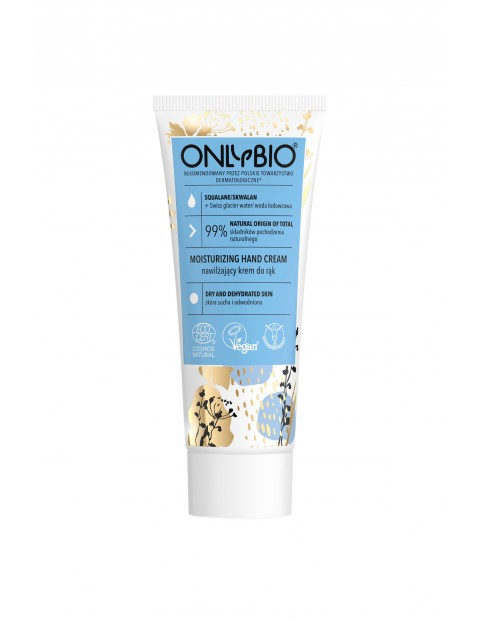 Nawilżający krem do rąk OnlyBio - Skwalan 75 ml