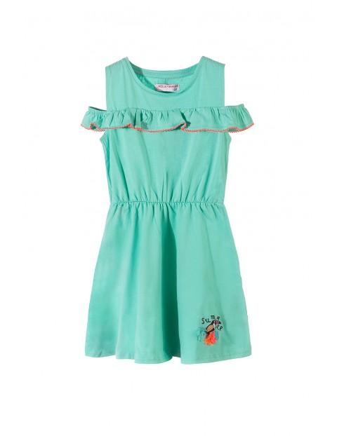Sukienka dziewczęca 4K3416