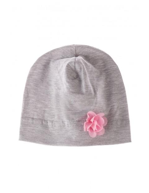 Cienka wiosenna czapka dla dziewczynki