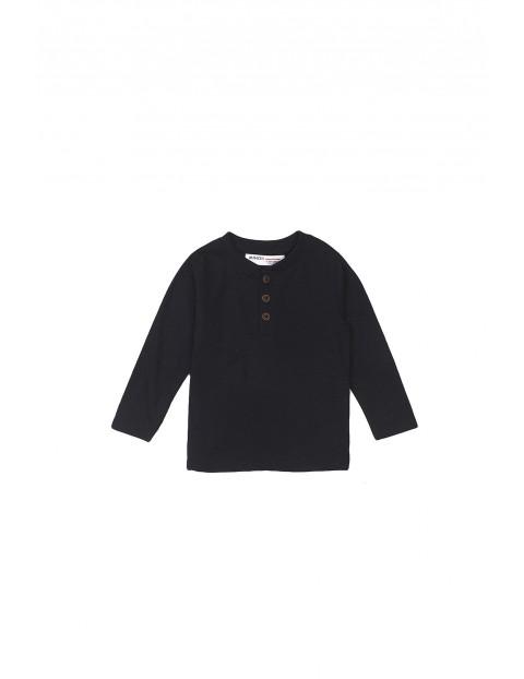 Bluzka niemowlęca bawełniana czarna