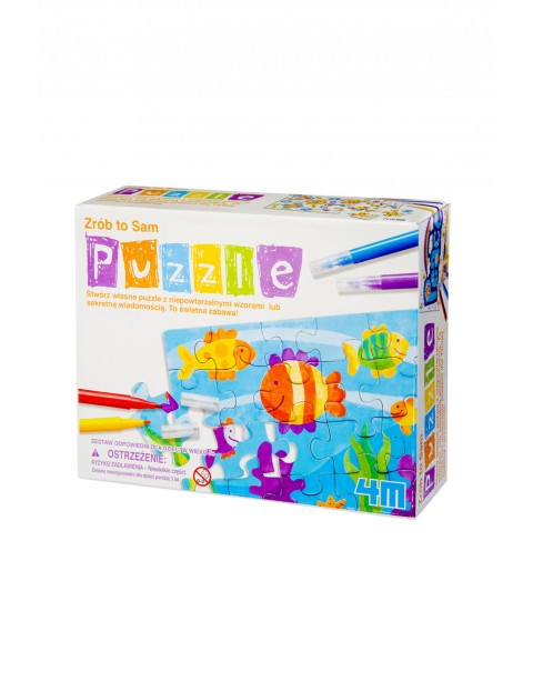 4M Stwórz to sam: Mini Puzzle wiek 5+