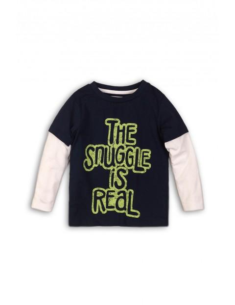 Bluzka niemowlęca z rękawem