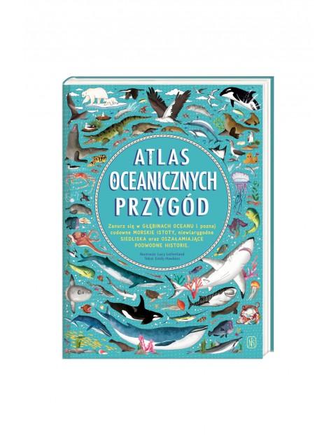 Atlas oceanicznych przygód - książka dla dzieci