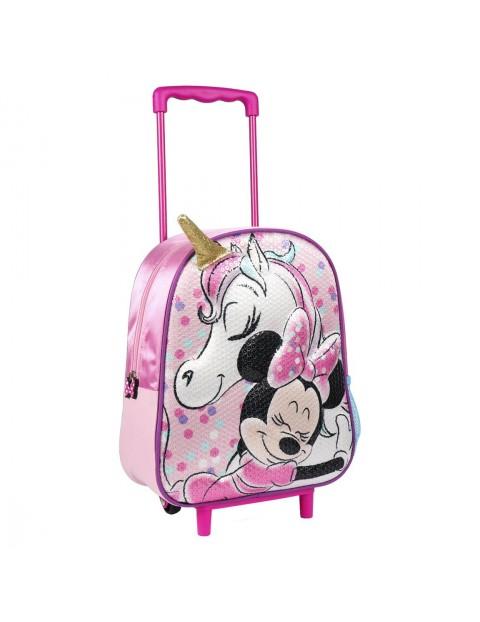 Plecak na kółkach -3D Myszka Minnie
