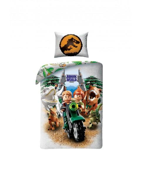 Pościel LEGO Jurassic Park 140x200+70x90cm