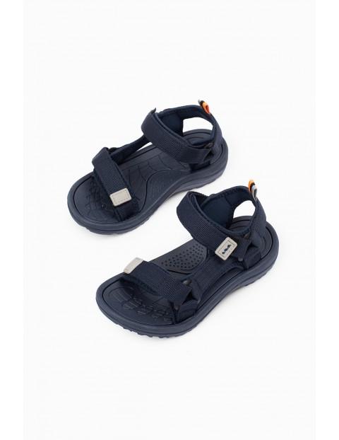 Sandały dla chłopca- zapinane na rzep