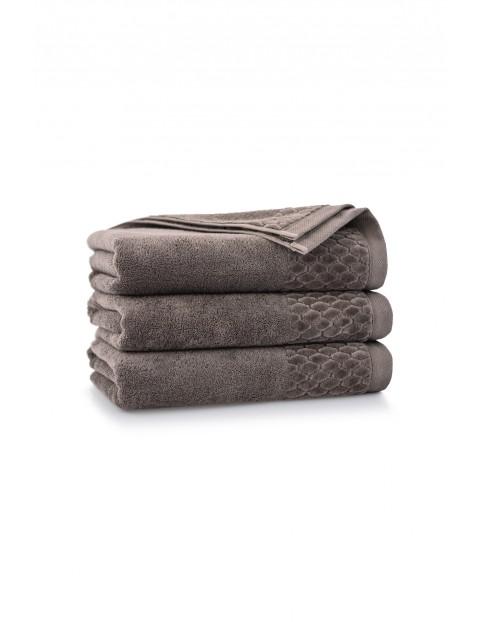 Ręcznik antybakteryjny Carlo z bawełny egipskiej taupe - 50x100 cm