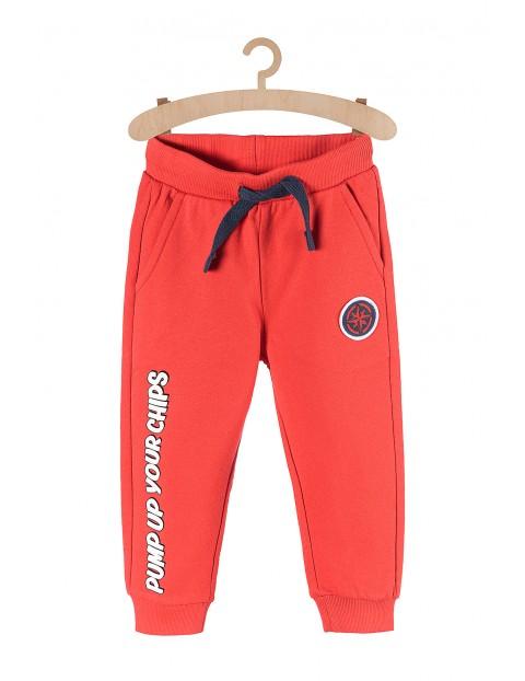 Dresowe spodnie dla chłopca 100%bawełna