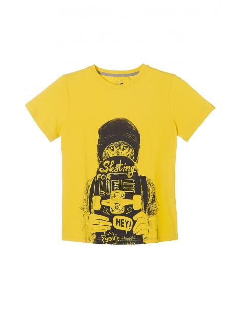 T-shirt chłopięcy 100% bawełna 2I3523