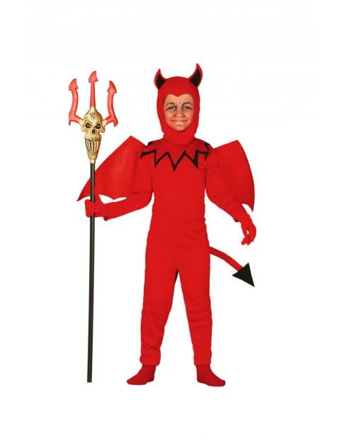 Strój karnawałowy chłopięcy Diabełek