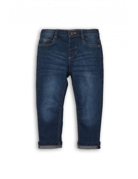 Spodnie chłopięce jeansowe niebieskie