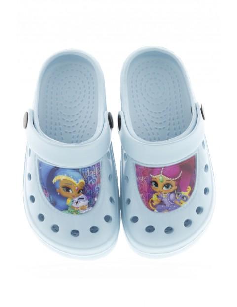 Niebieskie sandały dla dziewczynki