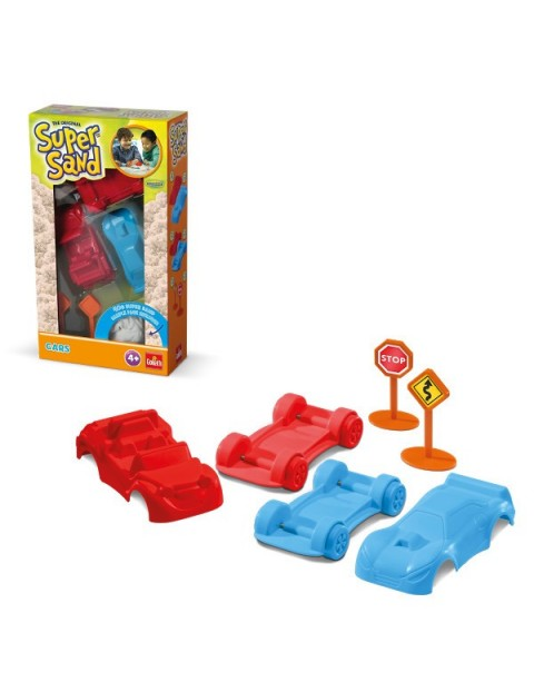 Super Sand Shapes Cars