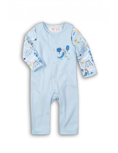Body i pajac dla niemowlaka-100% bawełna