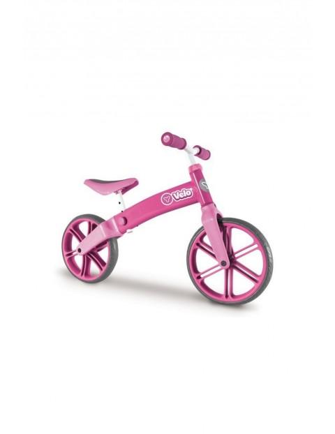 Yvolution Rowerek biegowy Velo balance- różowy