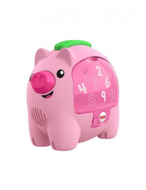 Edukacyjna świnka skarbonka Fisher Price 6msc+