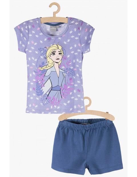 Pidżama dziewczęca fioletowa - Frozen 2