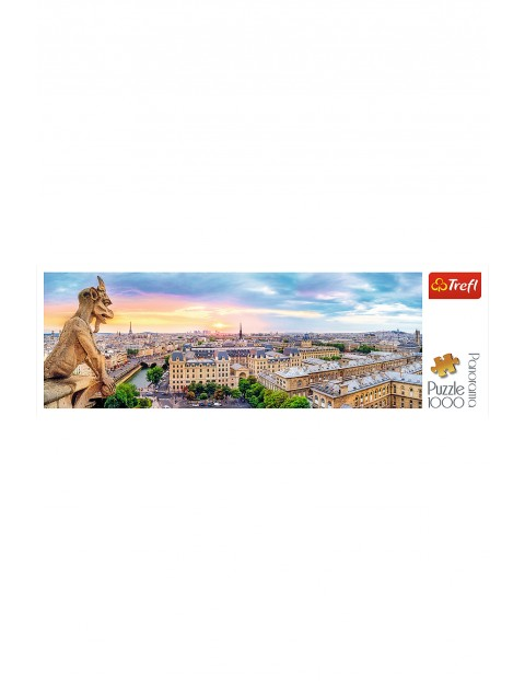 Puzzle  Panorama - Widok z katedry Notre-Dame - 1000 elementów
