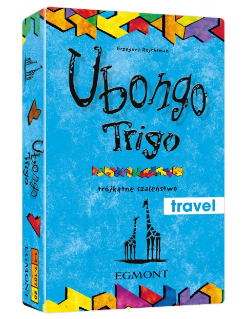 Gry dziecięce - Ubongo Trigo. Trójkątne szaleństwo wiek 7+