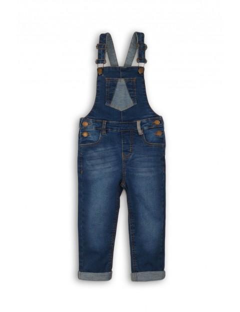 Spodnie ogrodniczki jeansowe- niebieskie