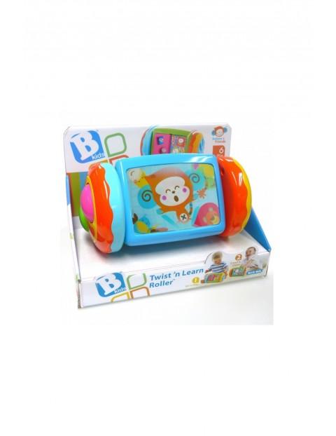 Zwierzątkowy Roller- zabawka dla niemowlaka 6msc+