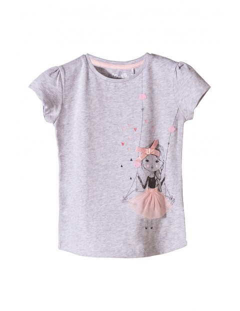 T-shirt dla dziewczynki 3I3508