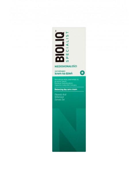 Bioliq Specialist Niedoskonałości Normalizujący krem na dzień 30 ml