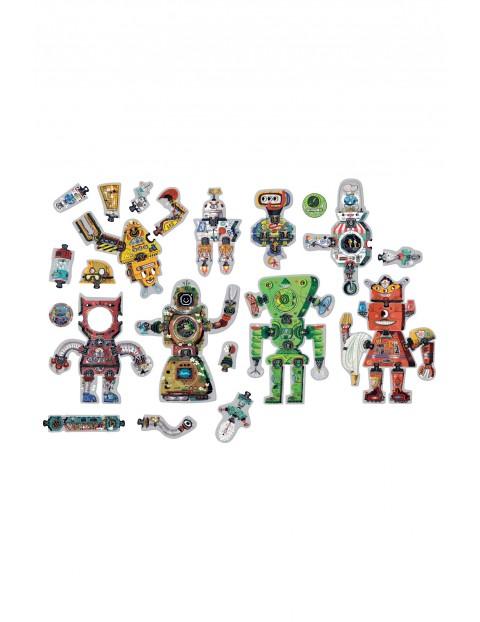 Puzzle CzuCzu 65 Kreatywne Roboty wiek 3+